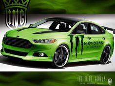 SEMA Show Las Vegas 2012: Ford Fusion von ING #sema #tuning #fordfusion