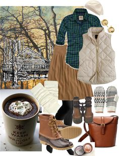 """""""Glamping!"""" by mrsrutledge1810 on Polyvore #LLBEAN BOOTS"""