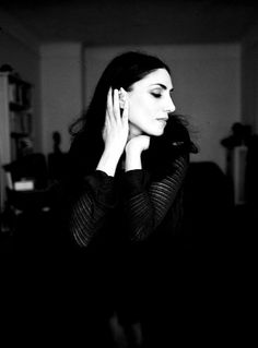 Ronit Elkabetz (1964) - Israeli actress and filmmaker in both Israeli and French cinema. Photo by Alexandre Isard