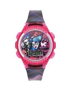 Monster High Girls LCD 7' Watch - BAtteries Included