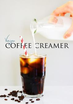 VEGAN coffee creamer!