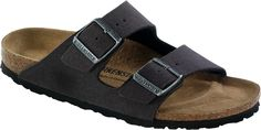 Birkenstock-Arizona-VEGAN-38-schmal-anthracite 50,-