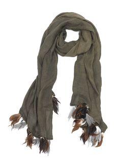CUTULICULT green unie scarf Scarfs, Belts, Branding Design, Luxury Fashion, Elegant, Green, Shopping, Style, Classy