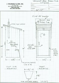 Outhouse Plans Ideas | Building Outhouses Construction Plans at WoodworkersWorkshop.com