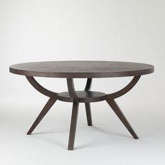 Best Arc Base Pedestal Table Modern Dining Tables West Elm Intended For Pedestal Dining Table Base Prepare