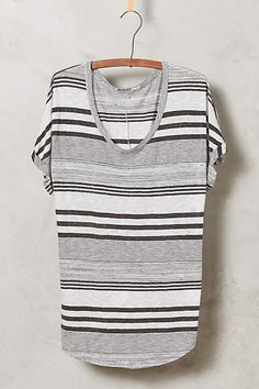 Stripeform Tee - anthropologie.com