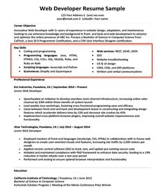 resume for grad school