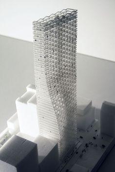 BIG Unveils 'Telus Sky' Tower in Calgary