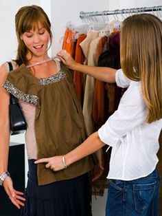 Learn how to #dress to play up your best features with these #tips from wardrobe #stylists