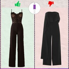 Rectangle bodyshape: Choose semi fitted or fitted silhouttes which will stick to your body enhancing your natural curves rather than opting for loose styles which will make you look baggy. Shop the best suitable styles for your body shape right here: #stylestips #voonikstylingtips #jumpsuits #rectanglebodyshape #leancolumnbodyshape