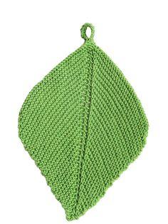 Neulottu tiskirätti Novita Puuvilla-bambu   Novita knits