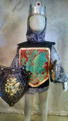 Child's Knight Costume, size 2/3, a five piece set by SoSewMimi on Etsy