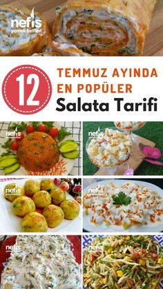 Temmuz Ayında En Beğenilen 12 Farklı Salata Tarifi – Nefis Yemek Tarifleri – Salata meze kanepe tarifleri – Las recetas más prácticas y fáciles Easy Salad Recipes, Easy Salads, Refreshing Salad Recipe, Crab Stuffed Avocado, Lentil Patty, Cottage Cheese Salad, Barris, Different Salads, Pasta Salad