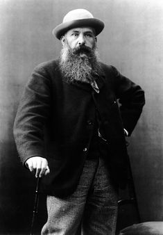 Claude Monet in 1887.