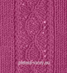 Vzor č. 76 – Kaleidoskop vzorů pro ruční pletení 40720b9313