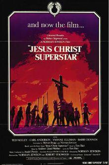 Jesucristo Superstar  es una película estadounidense dirigida por Norman Jewison en 1973. Está basada en el musical del mismo nombre, de Andrew Lloyd Webber y Tim Rice. Narra la vida de Jesucristo desde poco antes de la entrada en Jerusalén hasta su crucifixión.