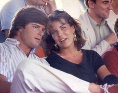 Carolina mantuvo un romance con Roberto Rosellini en los años 80.