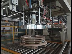 Steel strip stacking machine/ coil stacker and handling system Packing Machine, Packaging Solutions, Line, Steel, Fishing Line, Steel Grades, Iron