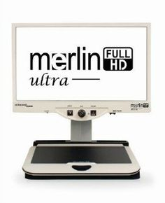 Low Vision CCTV - A Fulll Page Magnifier for Books, Newspapers & Magazines.