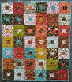 wee woodland quilt