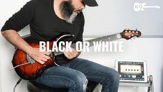 Michael Jackson - Black or White - Electric Guitar Cover by Kfir Ochaion...