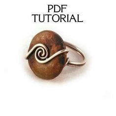 Image result for Wire Wrapped Ring Tutorial #wirewrappedringsideas #wirewrappedringstutorial