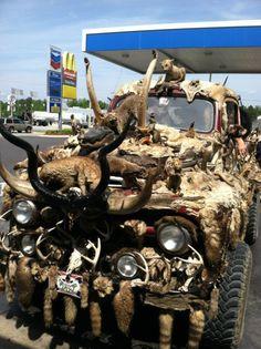 from - Ravishing Beasts: Taxidermy truck