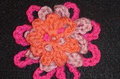 Crochet Geek - Crochet Chain Flower - 3 Sections Layered Crochet Geek