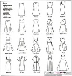 types of dress
