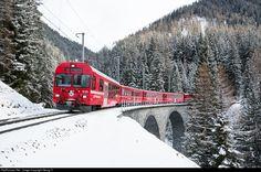 RailPictures.Net Photo: 616 RhB - Rhätische Bahn Ge 4/4 II at Bergün, Switzerland by Georg Trüb