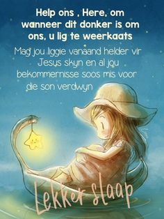 Goeie Nag, Afrikaans, Good Night, Wish, Nighty Night, Have A Good Night, Afrikaans Language