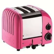 DUALIT 2 Slice NewGen Classic Toaster Chilly Pink $199.95 LOWEST PRICE ANYWHERE-GUARANTEED**PICK UP OR CULINART MARKET WILL SHIP TOTALLY FREE CULINART MARKET www.shopculinart.com