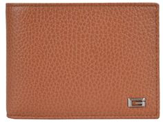 feef8dd3ac87 New Gucci Men's 150403 Saffron Tan Leather G Logo Bifold Wallet W/Coin  Pocket