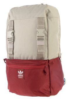 #planetsports ADIDAS - Campus Backpack light brown/colleg. burgundy mel./bright cyan