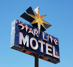 Star Lite Motel Sign, Sturgis, South Dakota