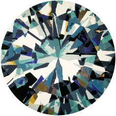 Diamond Is Forever Large Evolve Rug