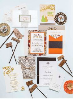 Rhode Island Monthly  Engaged 2015  Kraft paper invitation with lace wrap and jute tie by New England Invitations