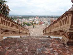 Vista de Lagos de Moreno,Jal. desde el Templo del Calvario. | México