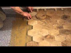 Comment Poser Des Pavés En Bois De Bout End Grain Wood Blocks How To Install End Grain Flooring In Uncategorized Style - Houses Flooring Picture Ideas