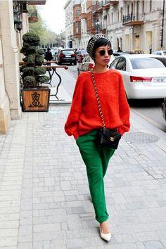 Ivory-kitten-heels-aldo-shoes-orange-sweater-charcoal-gray-striped-head-tops