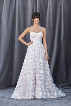 Felicity - Bridal Gown by Lis Simon (shown in Diamond White/Blush)