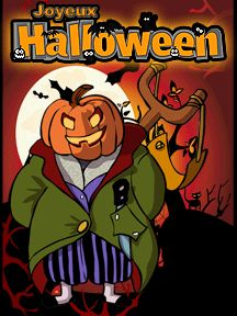 A imprimer pour Halloween, une carte d'invitation Jack O Lantern