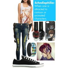 Schediophilia by awesomedanosaur on Polyvore featuring polyvore fashion style Converse My Little Pony