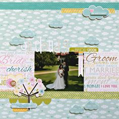 Hi all!     I have a layout up over on the Bella Blvd blog today using the new Love & Marriage collection! There is a variety of layouts up...