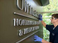 Hospital Signage Install   Interior Healthcare Branding   Medical Center Signage   Interior Signage Upgrade   UW Medicine by I-5 Design & Manufacture