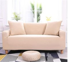 Stretch Sofa Slipcover,Furniture Cover / Slipcover, Fits T- Cushions, Sofa Furniture Cover Protector for Seats. 1 Seater Included: 1 x Single-seat Sofa Slipcover. 2 Seater Included: 1 x Two-seat Sofa Slipcover. Clean Couch, Sofa Protector, Old Sofa, Cama Box, Couch Covers, Dust Mites, New Furniture, Furniture Covers, Furniture Design