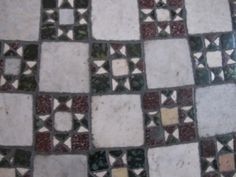 Vatican Museum floor in the Raphael Rooms ... so pretty it makes you look down instead of up.
