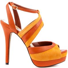 Heels I Love #heels #summer #high_heels #color #love #shoes Eman - Arancia Suede  					Jessica Simpson