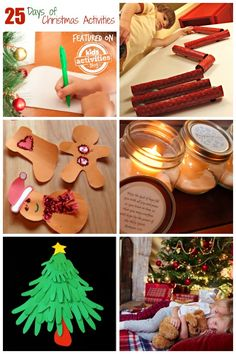 {25 Activities} Countdown to Christmas