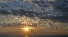Sunrise at Corpus Christi Bay